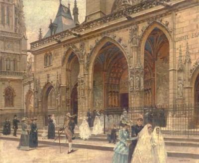 Louis Béroud (French, 1852-193