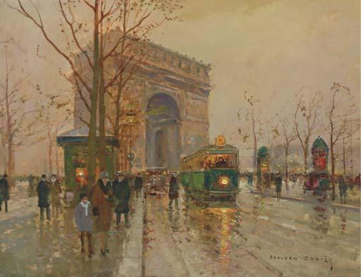 Edouard Léon Cortes (French, 1