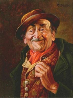Franz Xavier Wölfle (German, 1