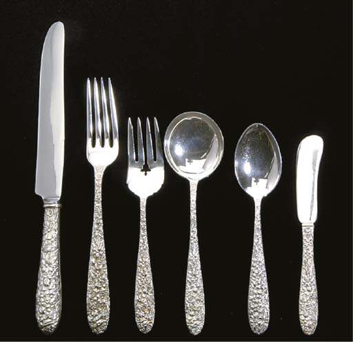 AN AMERICAN SILVER PART LUNCHE