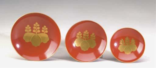 A GROUP OF TWELVE JAPANESE GOL