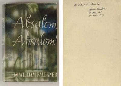 FAULKNER, William. Absalom, Ab
