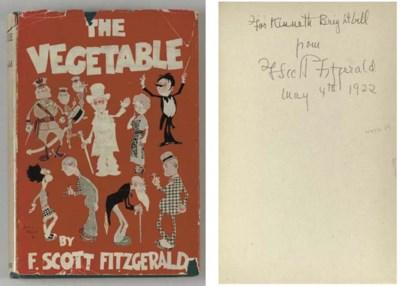 FITZGERALD, F. Scott.  The Veg