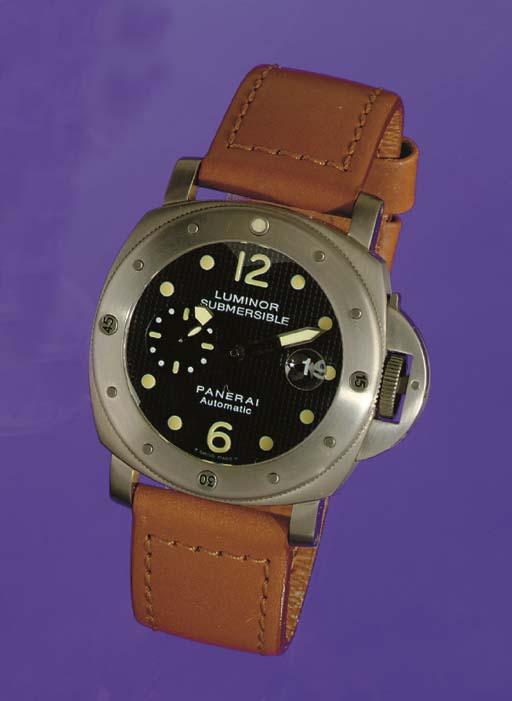 PANERAI. AN OVERSIZED LIMITED