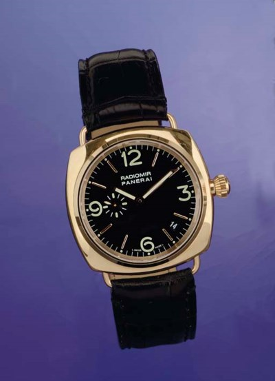 PANERAI. A FINE AND LARGE LIMI