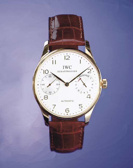 IWC. A FINE AND LARGE LIMITED