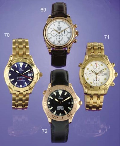 OMEGA. A LIMITED EDITION 18K P