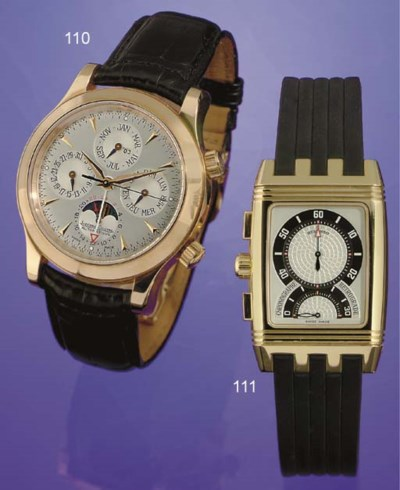 JAEGER-LECOULTRE. A FINE OVERS