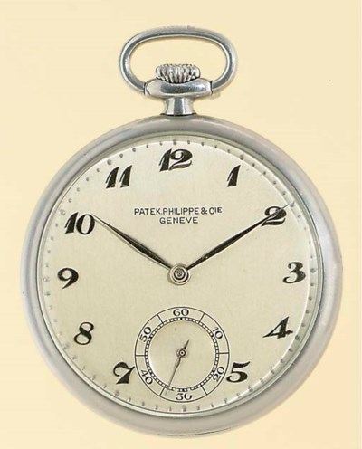 PATEK PHILIPPE.  A STAINLESS S