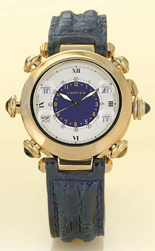 CARTIER.  A RARE AND UNUSUAL 1