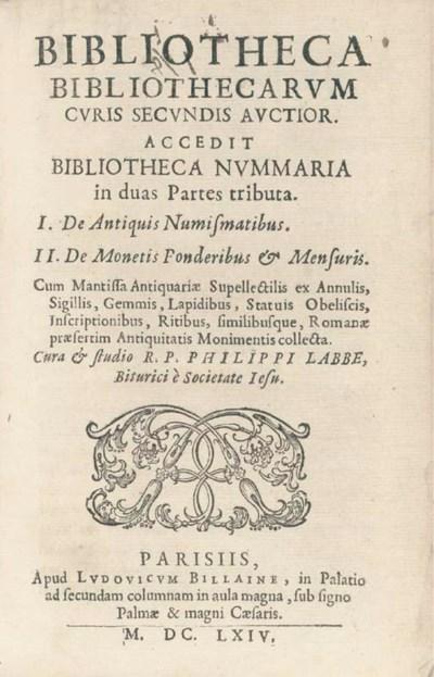 LABBÉ, Philippe (1607-67). Bib