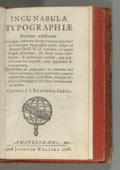 BEUGHEM, Cornelius à (c. 1637-