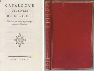 [LE CAMUS DE LIMARE (1722-95)]