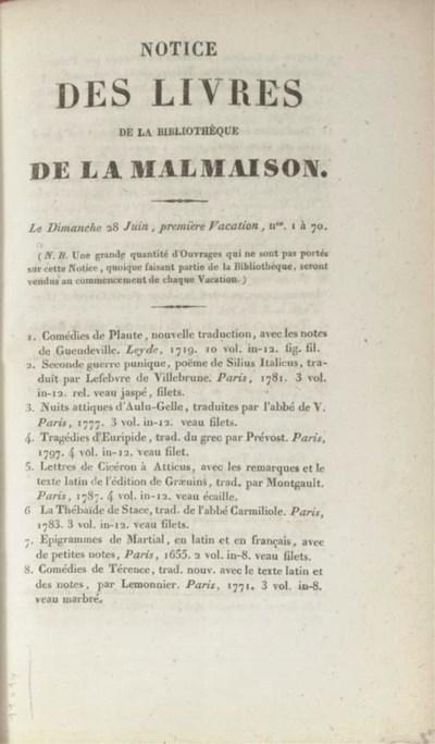 NAPOLEON I (1769-1821) and Emp