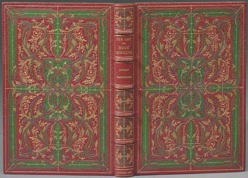 ZAEHNSDORF, Joseph William (1853-1930). The art of bookbinding. London: Dryden Press, J. Davy and Sons, 1880.