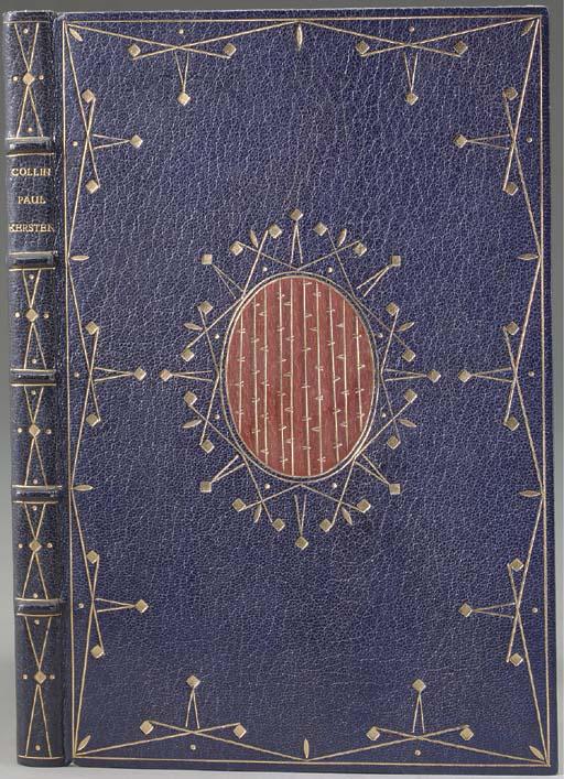 COLLIN, Ernst. Paul Kersten. Berlin: Wilhelm Adam at Chemnitz for Corvinus-Antiquariat Ernst Collin Verlag and the Jakob Krause-Bund, 1925.