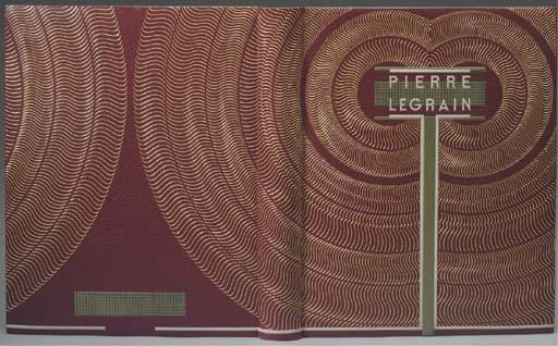 LEGRAIN, Pierre (1889-1929) -- Jacques ANTHOINE-LEGRAIN, Jacques GUIGNARD and others. Pierre Legrain relieur. Répertoire descriptif et bibliographique de mille deux cent trente-six reliures. Paris: Lahure (letterpress) and Ateliers d'Aulard (heliogravure) for Librairie Auguste Blaizot and the Société de la Reliure Originale, 1965.