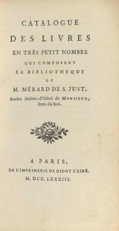 MÉRARD DE SAINT-JUST, Simon-Pi