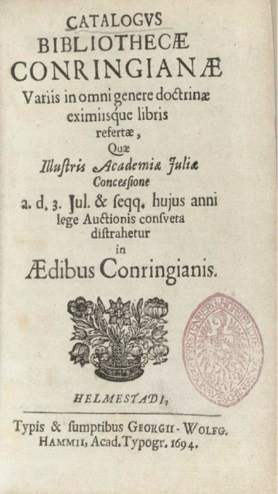 CONRING, Hermann (1606-1681) -