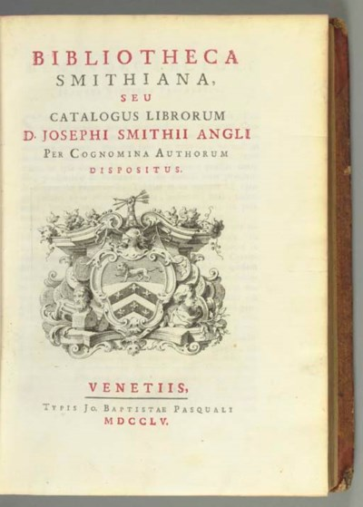 SMITH, Joseph, Consul (1682-17