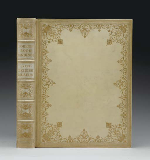 FLETCHER, William Younger.  Foreign Bookbindings in the British Museum.  London: Kegan Paul, Trench, Truebner, 1896.