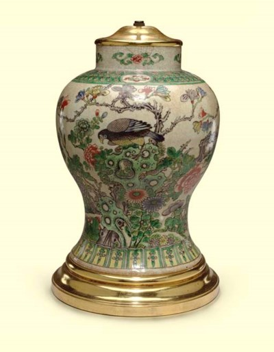 A CHINESE EXPORT PORCELAIN BAL