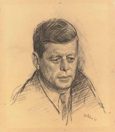 Aaron Shikler (b. 1922)