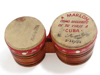 A Pair of Bongo Drums