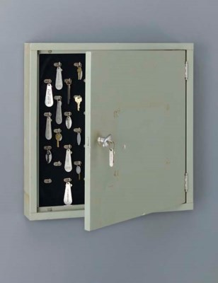 A key box from the chart room/
