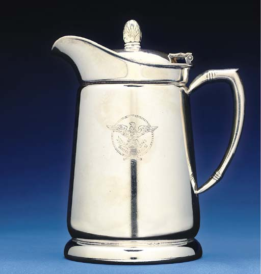 A cabin service coffee pot in