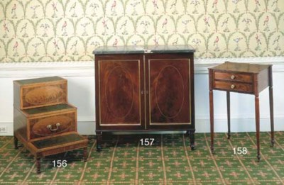 A GEORGE III STYLE MAOGANY AND