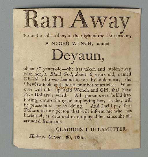 [SLAVERY]. DELAMETTER, Claudiu