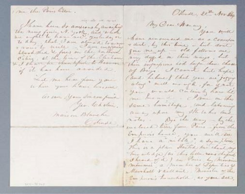 CATLIN, George (1796-1872). Au
