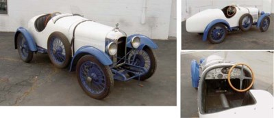 1926 AMILCAR CGSS TWO SEATER R