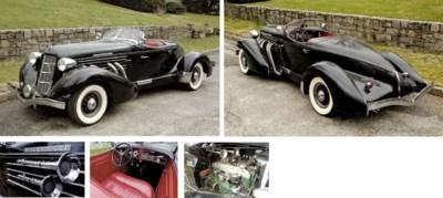 1936 AUBURN MODEL 852 STRAIGHT