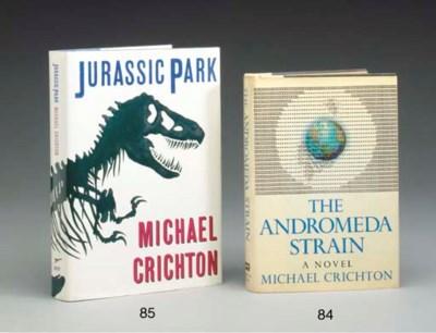 CRICHTON, Michael.  Jurassic P