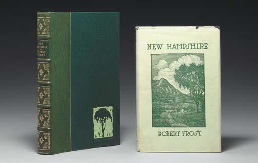 FROST, Robert (1874-1963). New