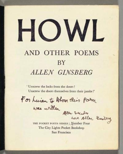 GINSBERG, Allen (1926-1997). H