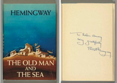 HEMINGWAY, Ernest.  The Old Ma