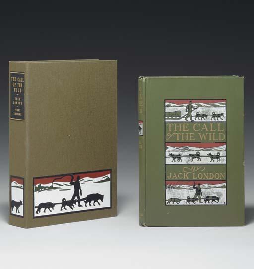 LONDON, Jack (1876-1916).  The Call of the Wild.  New York: Macmilllan, 1903.
