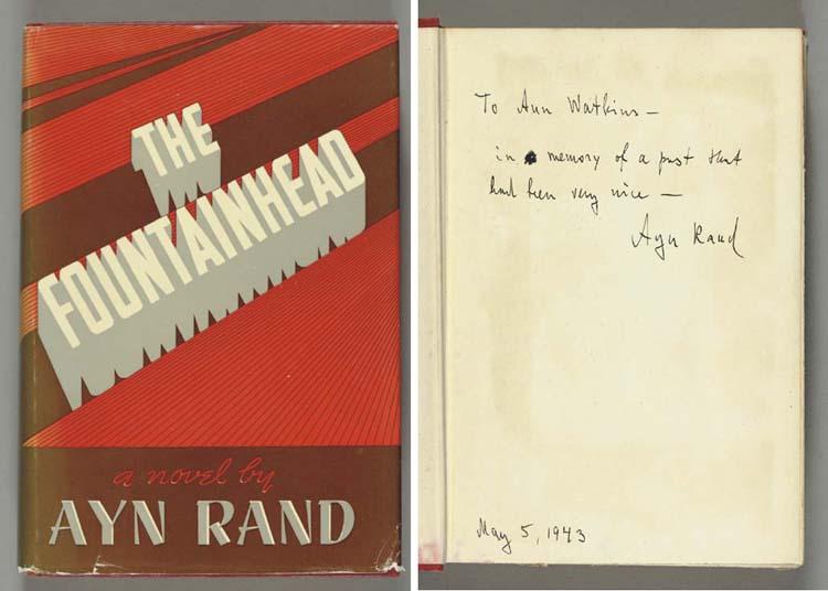 RAND, Ayn.  The Fountainhead.