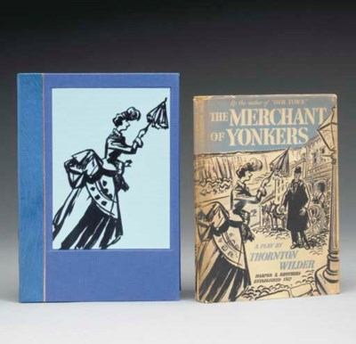 WILDER, Thornton.  The Merchan