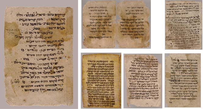 GENIZAH -- Collection of 23 Hebrew liturgical manuscript fragments, some unpublished, reputedly from Cairo and other genizot, mostly on paper, one on vellum. 11th-17th century.
