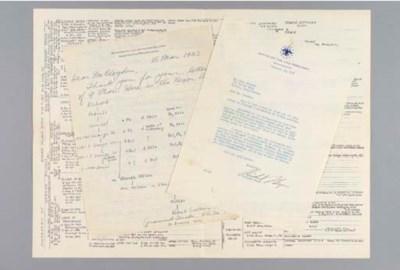 NIXON, Richard M. Typed letter