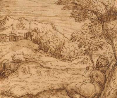 Attribué à Domenico Campagnola