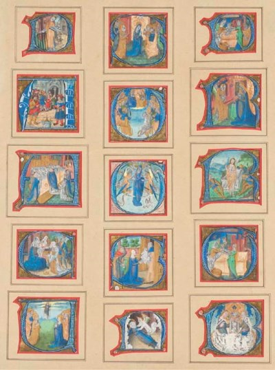 Ecole Française, vers 1500