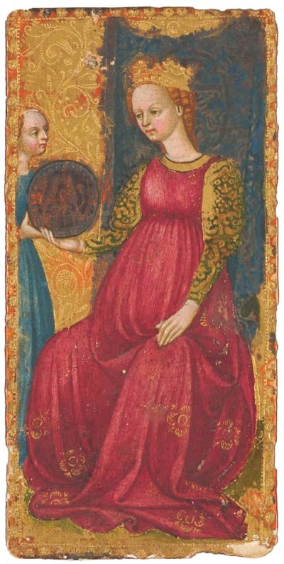 Maître du Tarot Visconti (mili