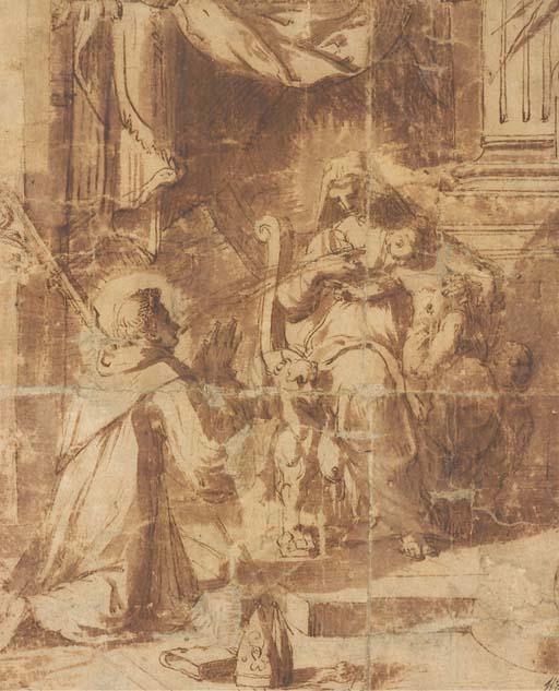 Attribué à Hans Speckaert (circa 1540-circa 1577)