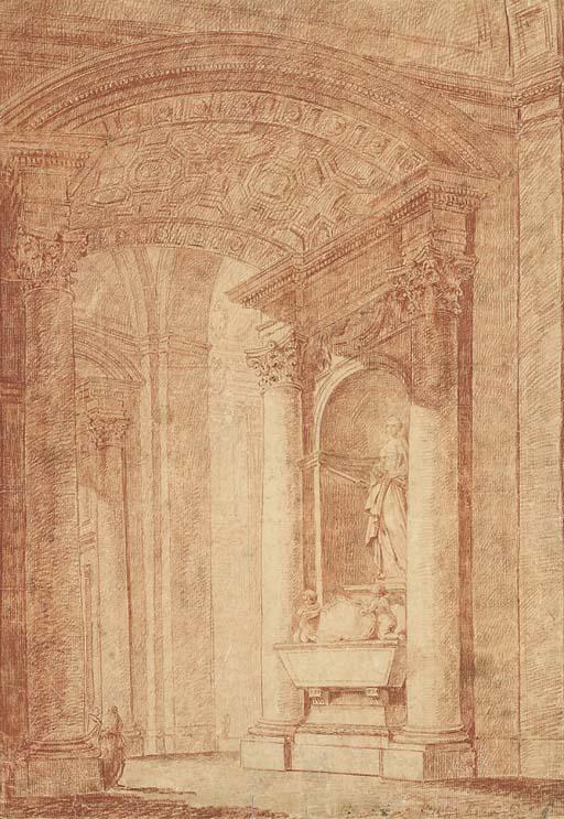 Attribué à Hubert Robert (1733