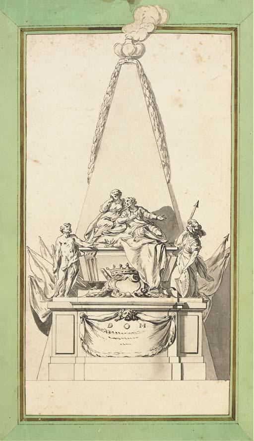 Attribué à Augustin Pajou (173